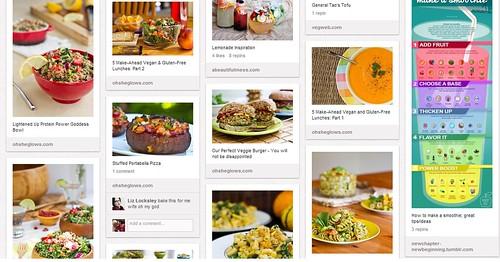 Foodie Pinterest Board