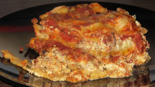 Meat-lover's lasagna by Coyoty