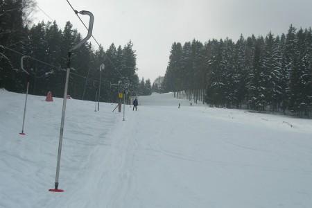 SNOW tour: Horní Vltavice - jednoduchá, ale funkční