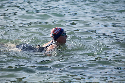 Reverting to breast stroke after having a panicky beginning