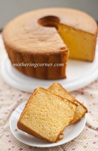 wmOrange Chiffon Cake