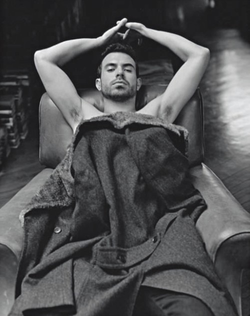 Tom Cullen by Bruce Weber for L'Uomo Vogue-glooce.com
