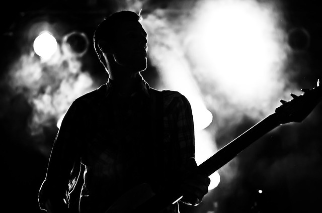 Bassist in the Light