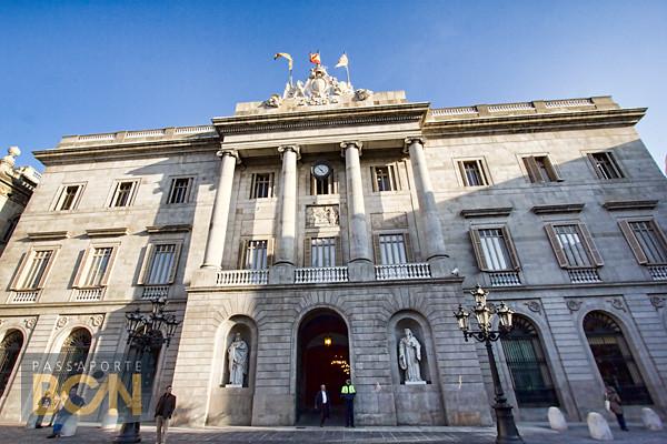 Ajuntament, Plaça Sant Jaume, Barcelona