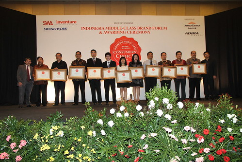 Indonesia Middle-Class Brand Forum 2013-Champions