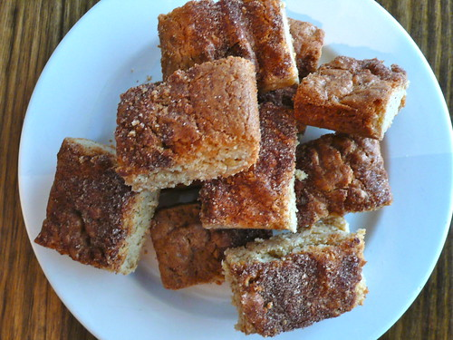 Snickerdoodle Oatmeal Blondies