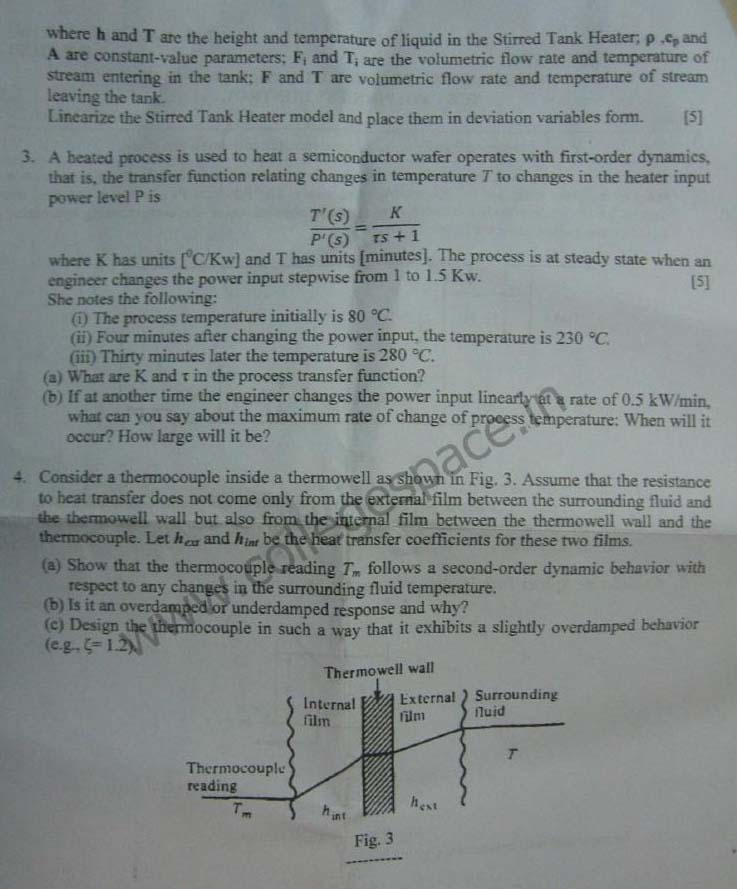 NSIT Question Papers 2012 – 7 Semester - Mid Sem - ICE-403