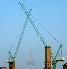 Cranes at Bradford College