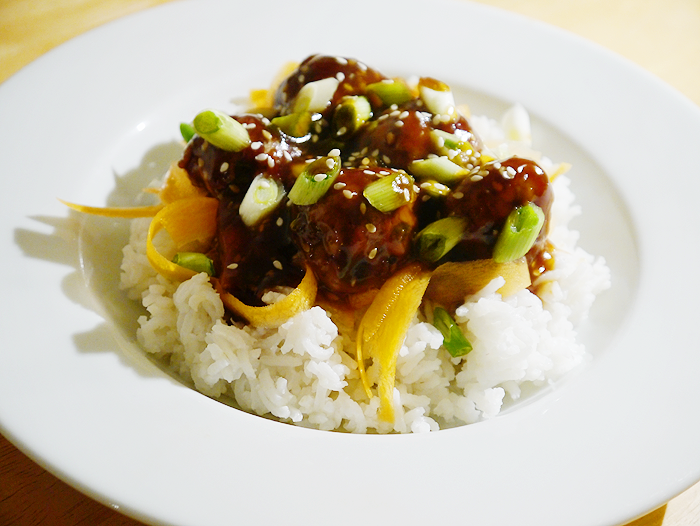 teriyaki glazed meatballs recipe 2