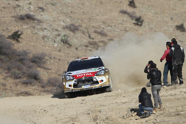 Rally Car Race Guanajuato Mexico