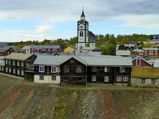 Røros town and church, Norway