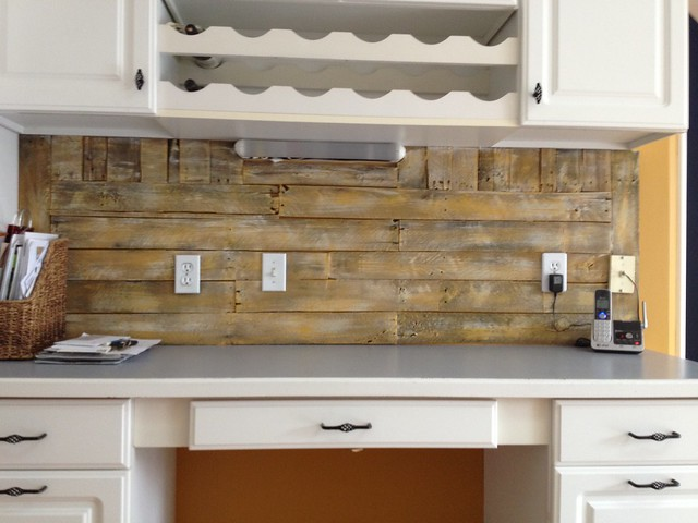 pallet backsplash complete flickr photo sharing