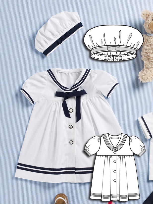 Nautical Baby: 9 New Baby Sewing Patterns – Sewing Blog | BurdaStyle.com