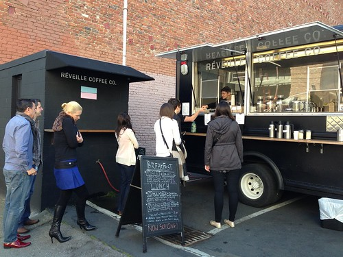 New office coffee truck