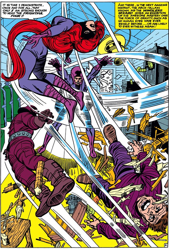 Fantastic Four 38 1965 Kirby Frightful Four