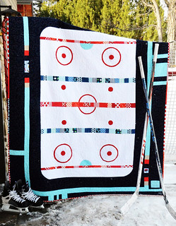 hockey quilt pattern now available!