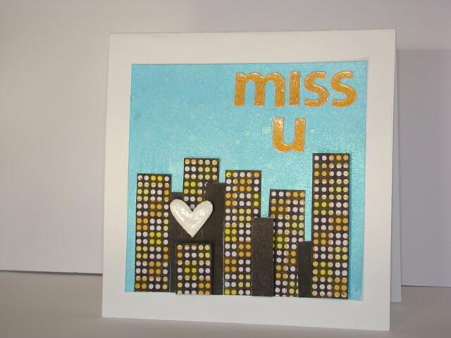 miss u - card