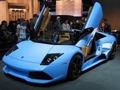 Lamborghini Murcielago Azul Javier Rodriguez Borgio Flickr