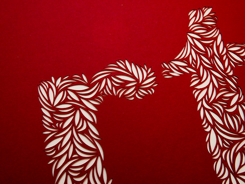 Paper cut typography-3