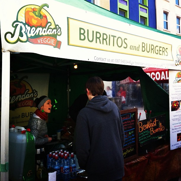 Best #burrito in #cork at #stpatricksday #festival