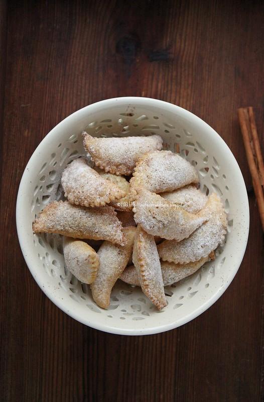Cicerata di San Giuseppe (Ravioli dolci con crema di ceci)
