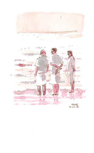 Men in the Beach