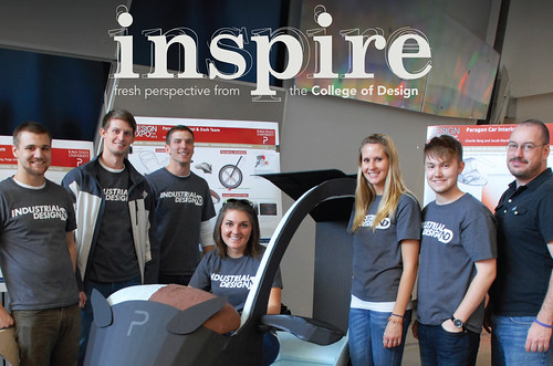 Industrial Design featured in the Spring 2013 issue of our alumni newsletter, Inspire!