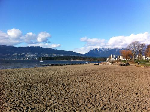 Beach at Kitsilano, Vancouver