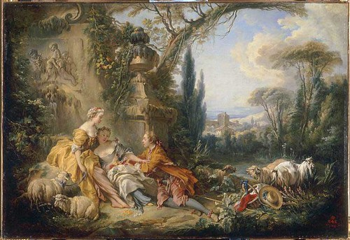 charms-of-country-life-1737-by-Francois-Boucher
