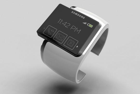 concept đồng hồ thông minh của Samsung