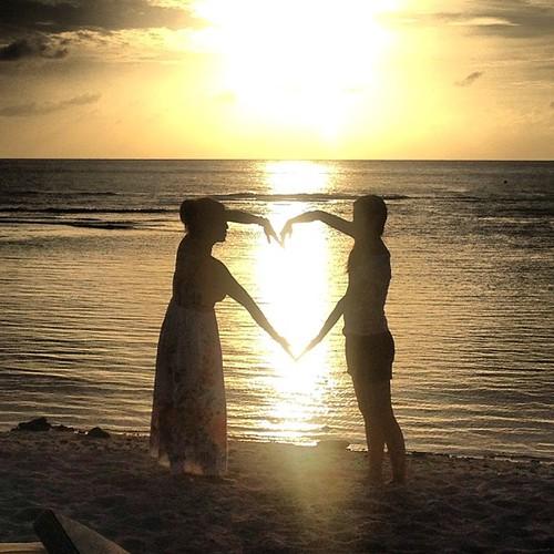 Heart #guam #sunset #islandlife by ichigosmith