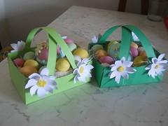 Bricolage ricette blog bricolage cestini d pasqua fai for Cestini fai da te