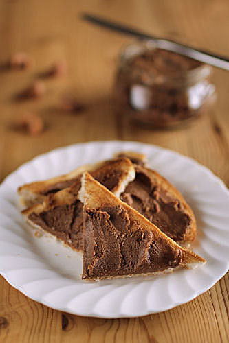 Cashew chocolate butter on toast IMG_6901 Rb