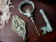 old fashioned keys