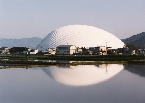 Dome in Odate, 1993-1997. Odate-shi. Akita. Japan