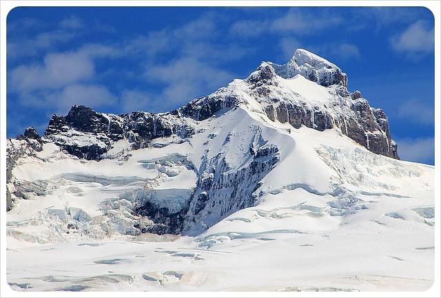 monte tronador snow peak