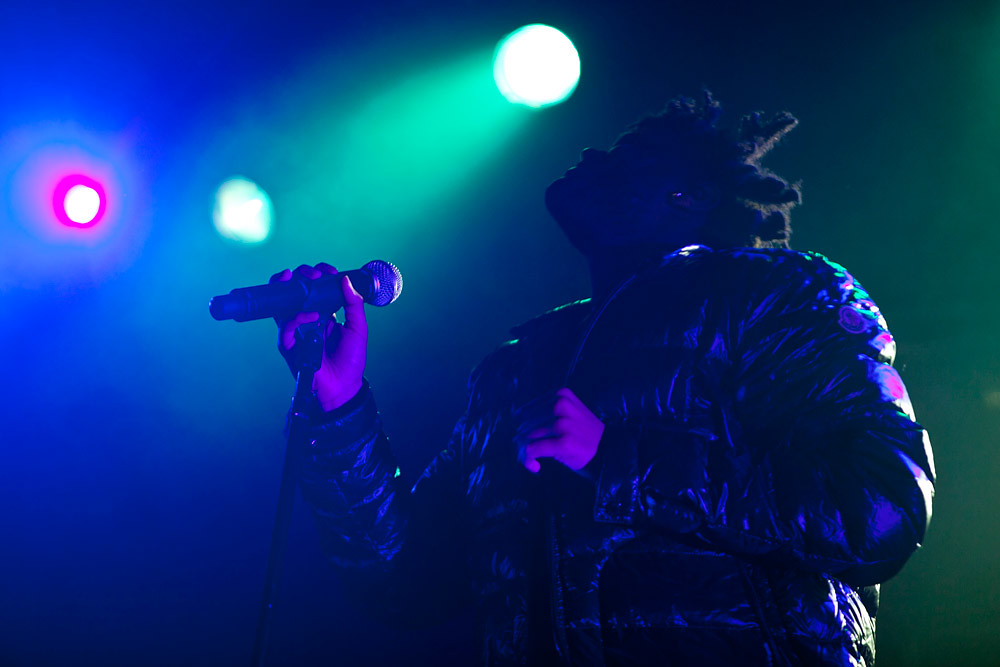 The Weeknd @ Electric Ballroom, London 24/03/13