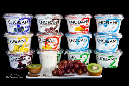Chobani Greek-style 16 ounce yogurts - Flavored and 2% fat