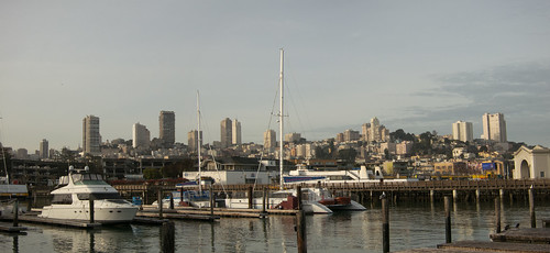 San Francisco from FIsherman's Wharf