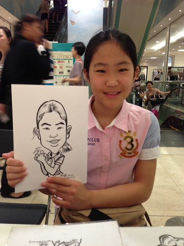 caricature live sketching for Takashimaya Good Friday Special - 11