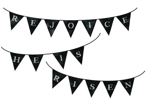easter mini bunting image