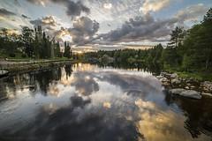 Sunset at Kajaaninjoki