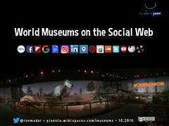 World Museums on the Social Web 10.2016