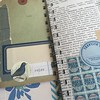 Putting together a travel journal. It's blue all the way through. #ihavelotsofoldbluepapers #journal #travel #traveljournal