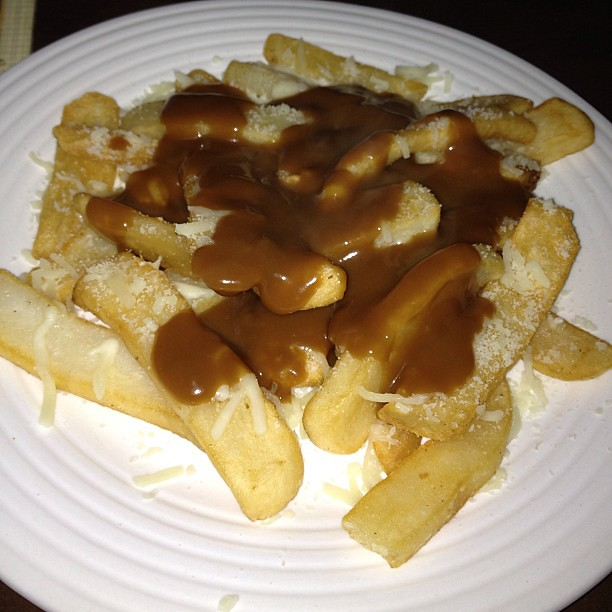 Home made gravy fries. Mm Mm good!