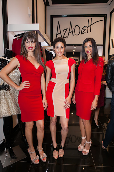 Azadeh Supports the American Red Cross, Bay Area philanthropists recently attended a private cocktail party at the Azadeh San Francisco Atelier, which Azadeh hosted in support of the Red Cross.