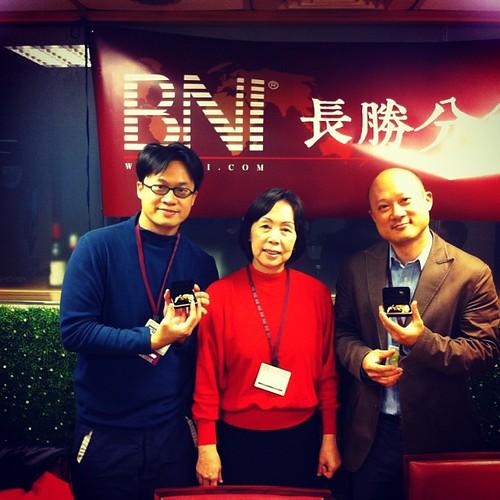 BNI長勝分會:八分鐘分享後得獎者:資訊顧問蔡正信,心靈海教育顧問蔡明德 by bangdoll@flickr