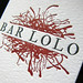 Bar Lolo detail by Stumptown Printers