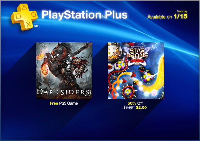 PlayStation Store Update 1-15-2013