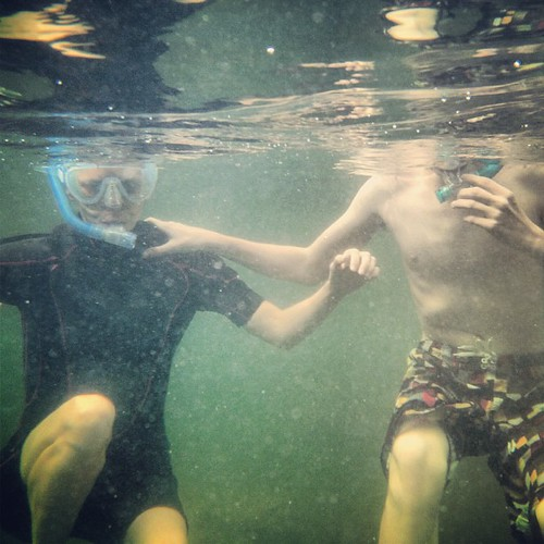 Me and Zeb #snorkeling #ocean #thebigchill13